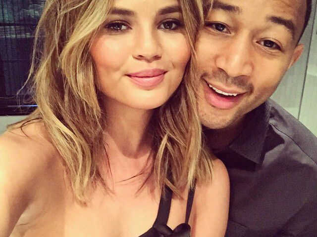 Chrissy Teigen Just Debuted Her New Baby Bump in the Sweetest Way