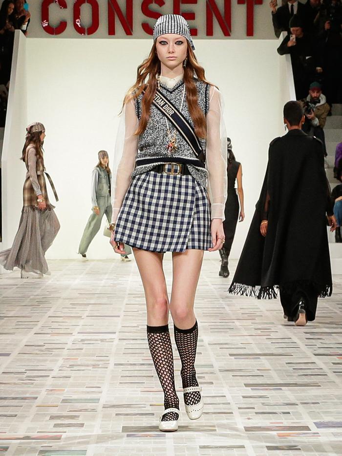 Sweater Vest Trend: Dior Runway