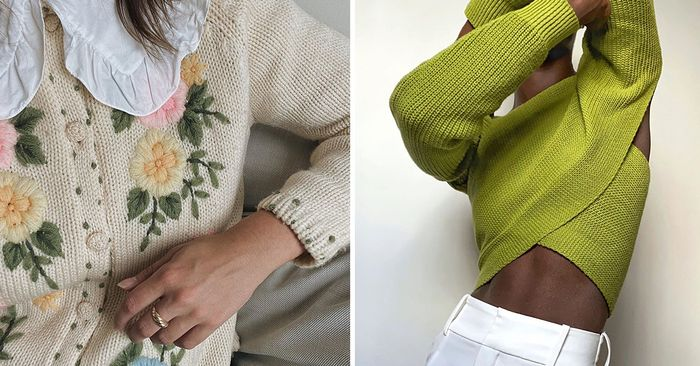 The Knitwear Trends I'd Happily Live In for the Next Six Months