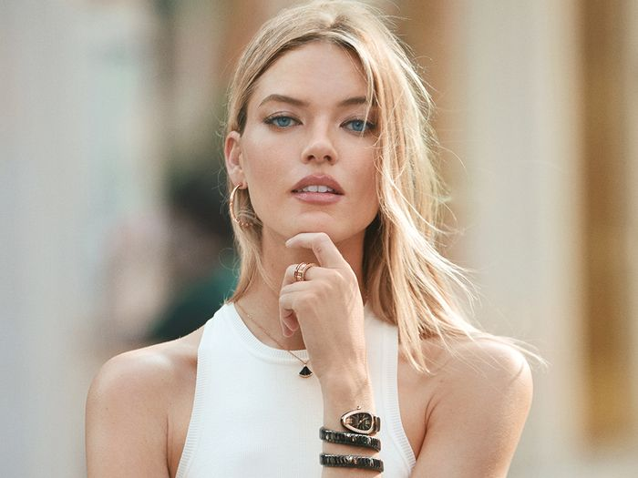 Martha Hunt Is Bulgari's New Ambassador