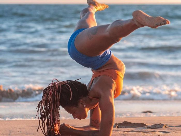 Best high-waisted yoga shorts