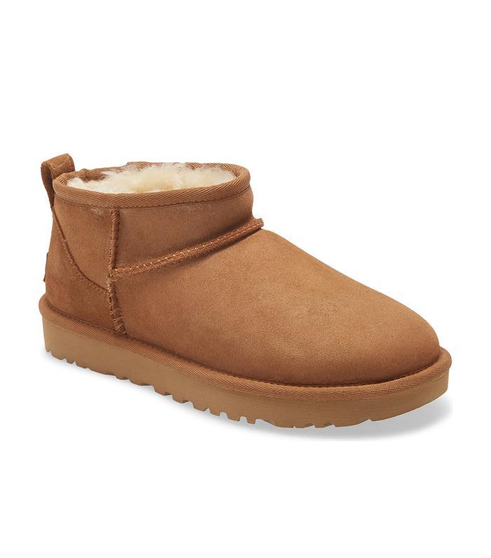 The New Ugg Ultra Mini Classic Boots