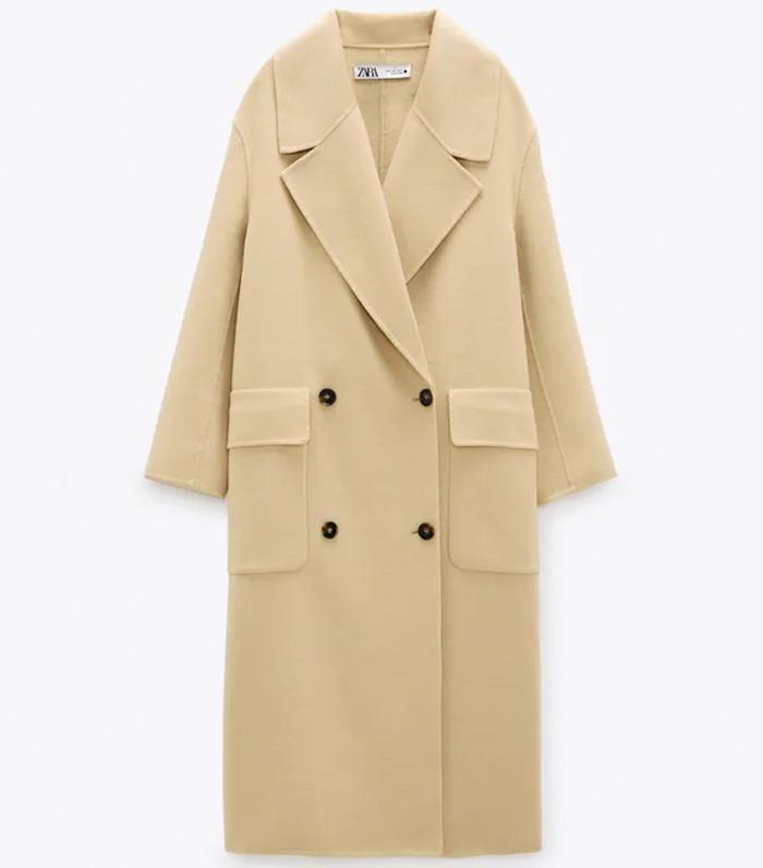 Zara Limited Edition Wool Blend Coat