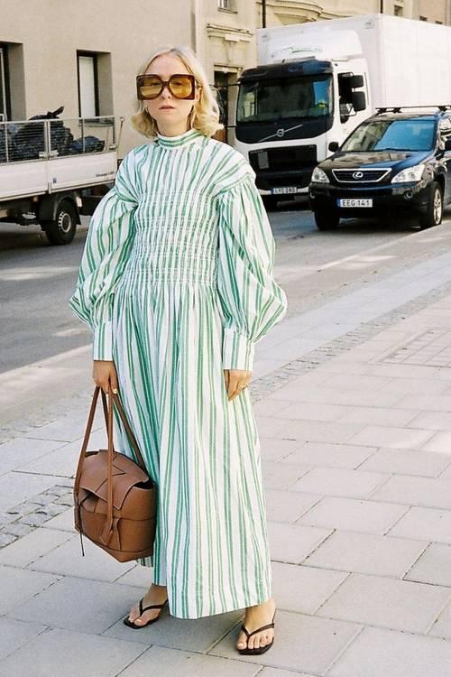 Autumn Dress Trends: Statement Collars