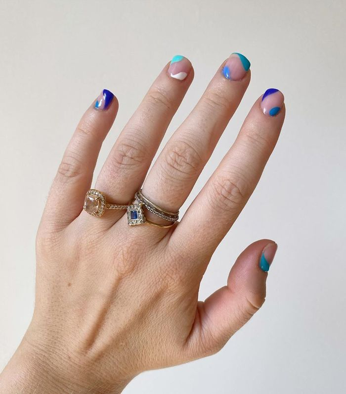 13 Short Nail Designs That Are So Easy To Do Who What Wear