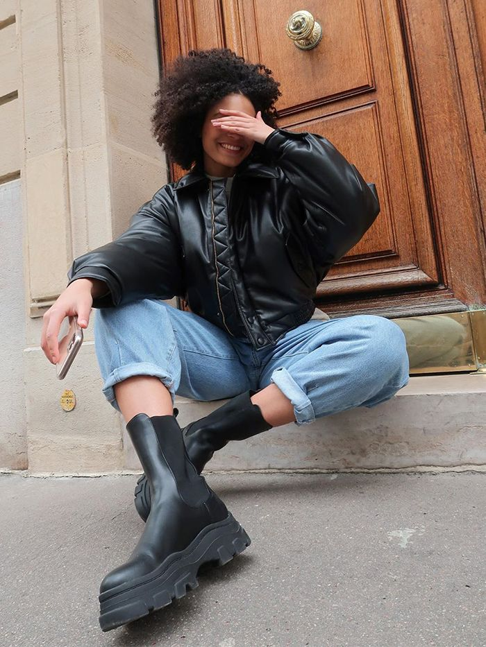 Autumn Boot Trends: track sole boots