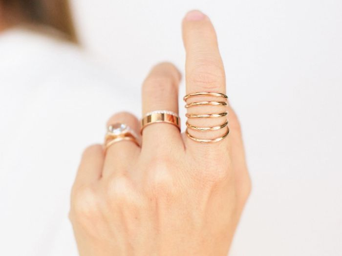 I'm Convinced Dainty Gold Rings Will Never Go Out of Style—Here Are My 25 Faves