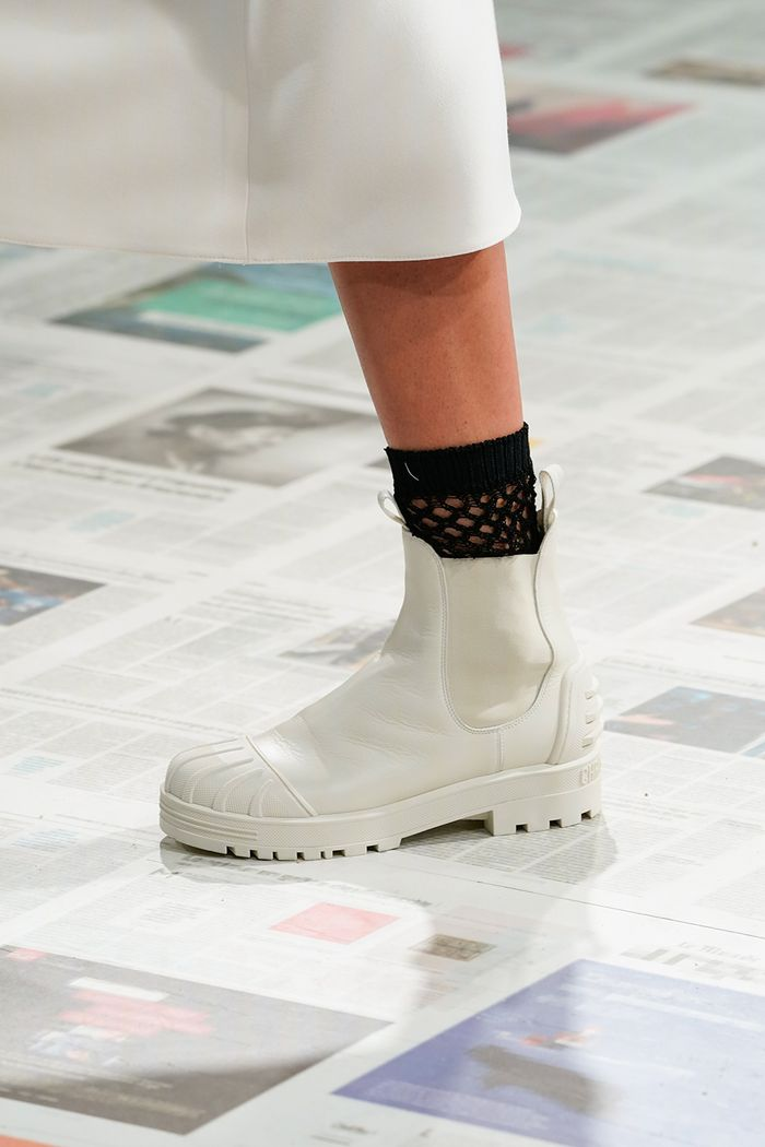 Dior chunky boots