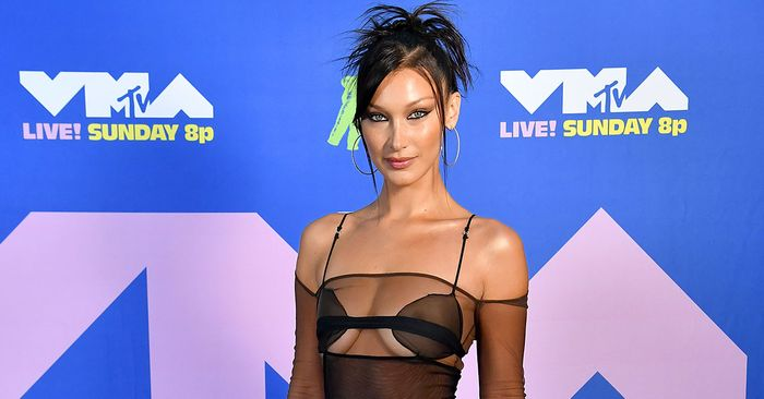 Yep—Bella Hadid Just Made Low-Rise Pants and a Visible Thong Look Elegant