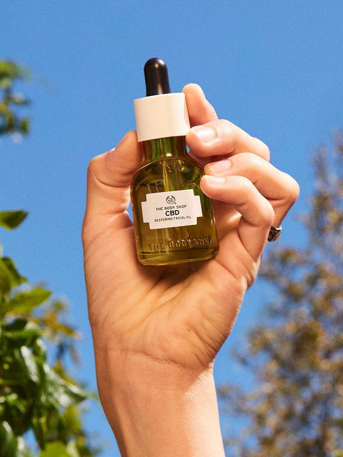 The Body Shop CBD Range: Facial oil