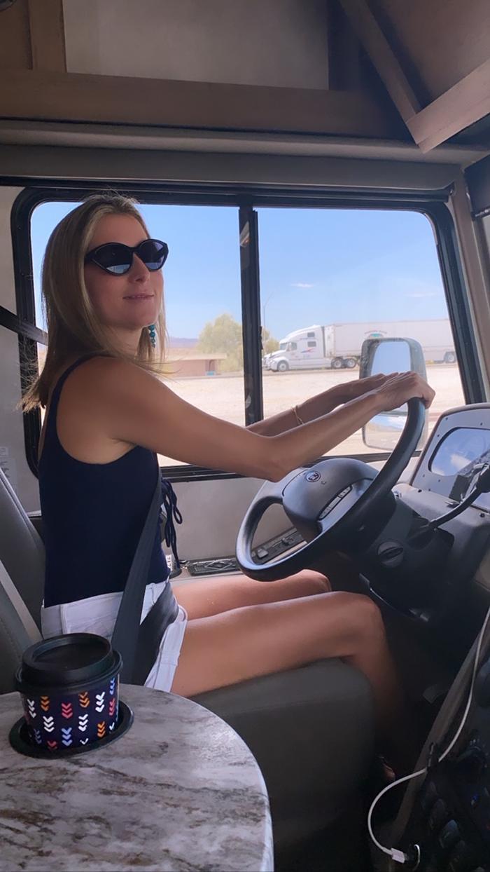 Marina Larroudé's Cross-Country U.S.A. Road Trip Essentials