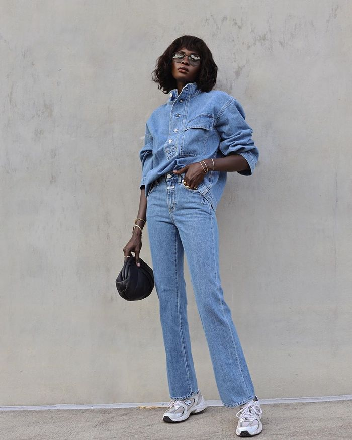 Best fall 2020 outfits with denim on denim