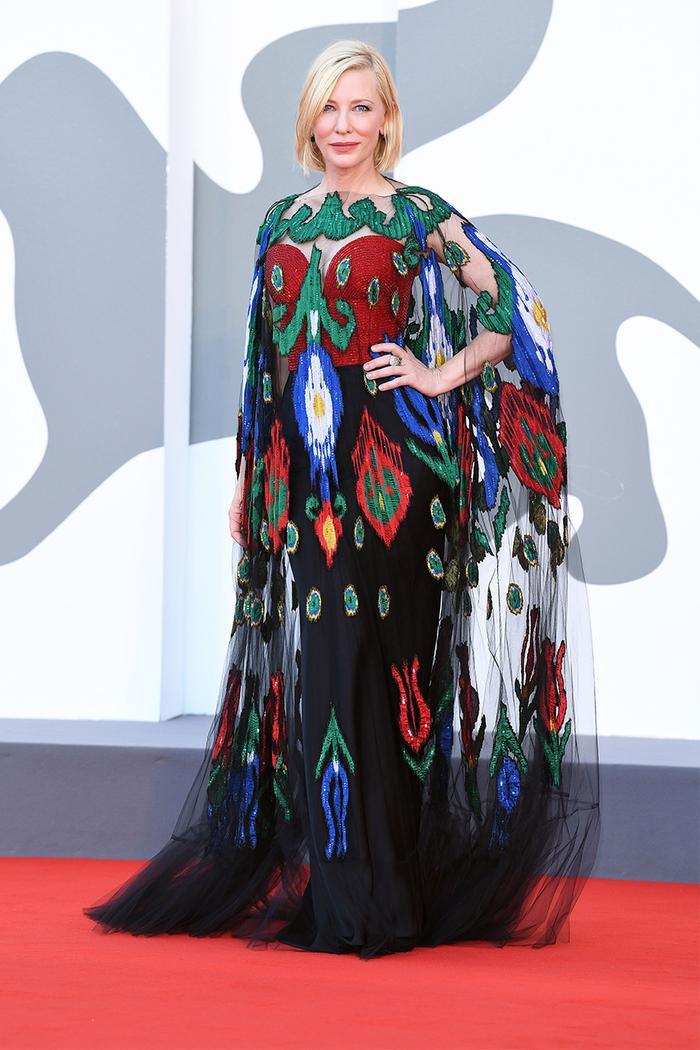 Cate Blanchett Venice Film Fest style
