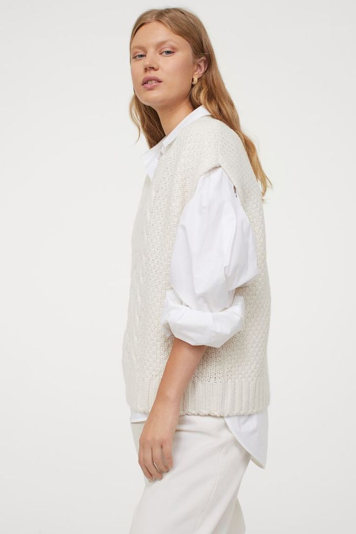 H&M Cable-Knit Slipover