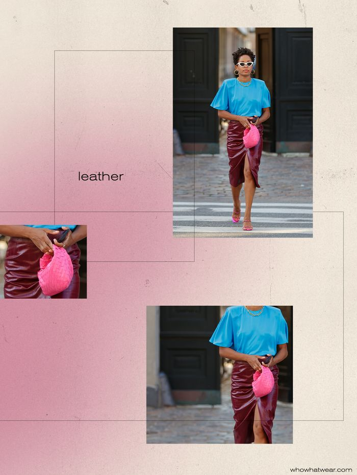 Photogenic fall trends: leather