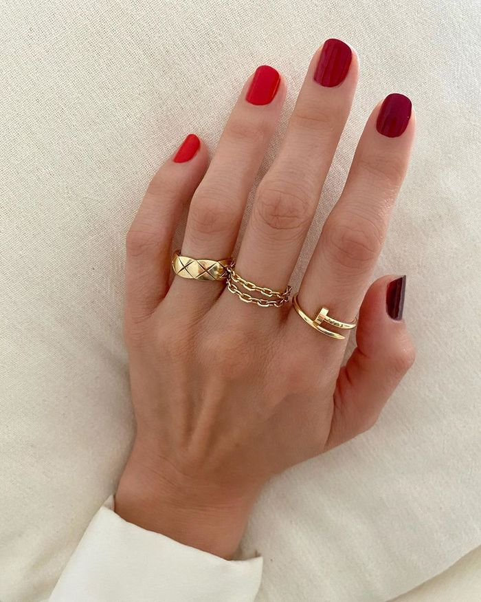 Easy Nail Art: @betina_goldstein with ombré nails