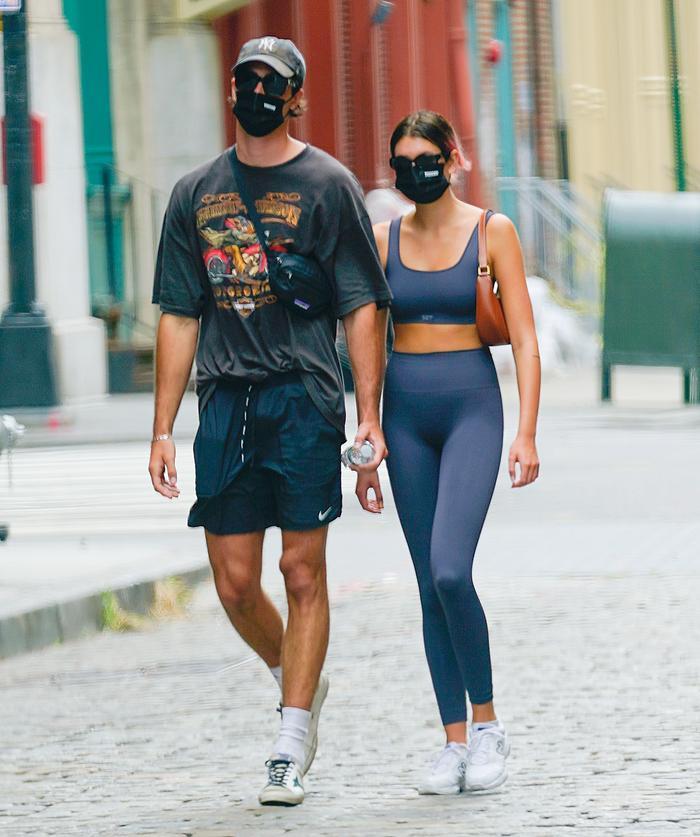 Kaia Gerber and Jacob Elordi
