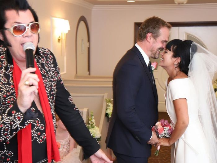 Lily Allen Just Wore the Perfect 2020 Wedding Dress