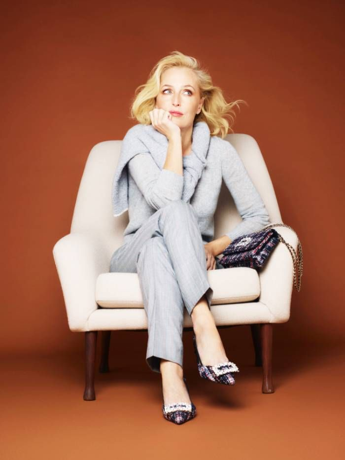 Dune AW20 Campaign - Gillian Anderson