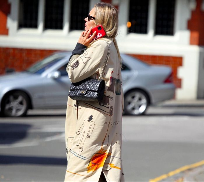 Kate Moss Just Wore the Coolest Autumnal Outfit