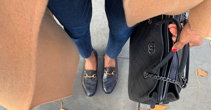 Black Flats for Women