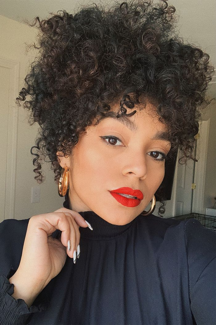 12 Easy Hairstyles For Curly Hair You Ll Want To Bookmark Who What Wear
