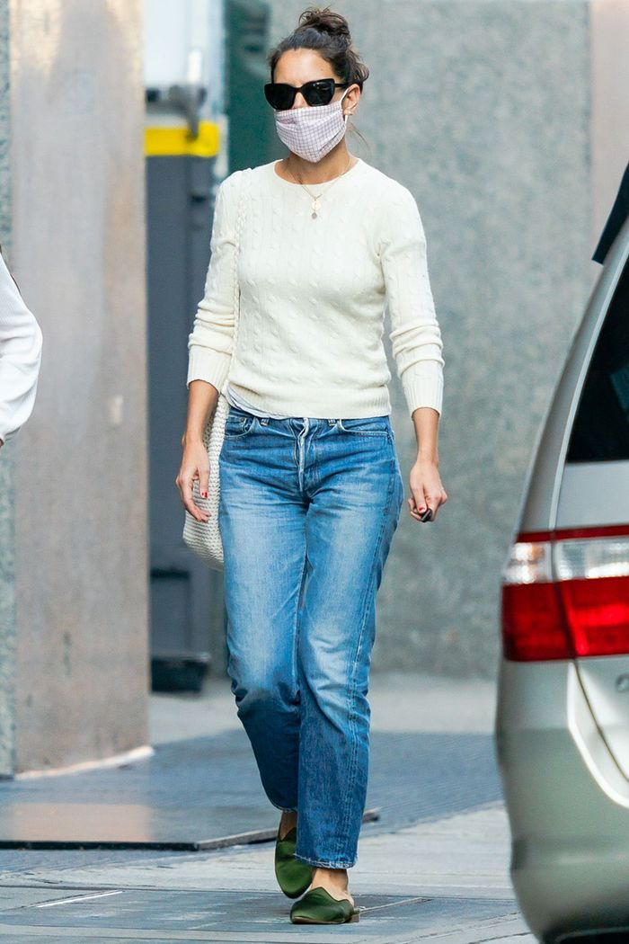 Katie Holmes Style: Le Monde Beryl Slippers