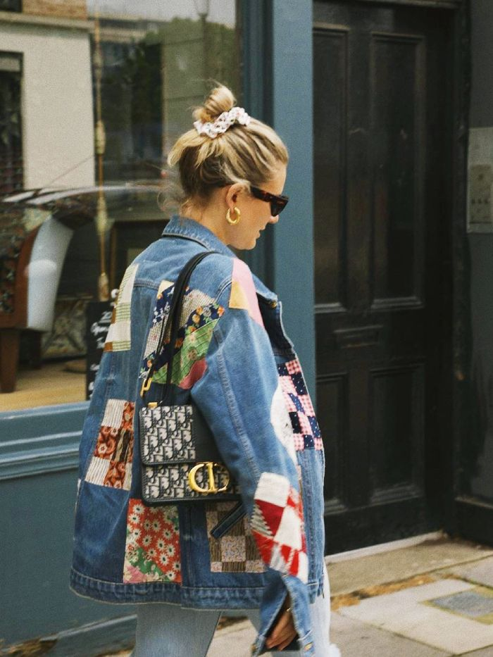 patchwork jackets: lucy williams