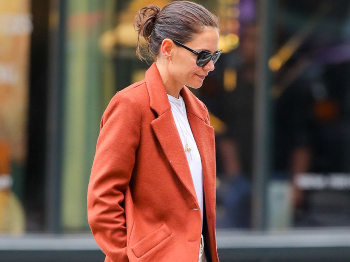 Katie Holmes's Mango Joggers Are the Perfect WFH Staple