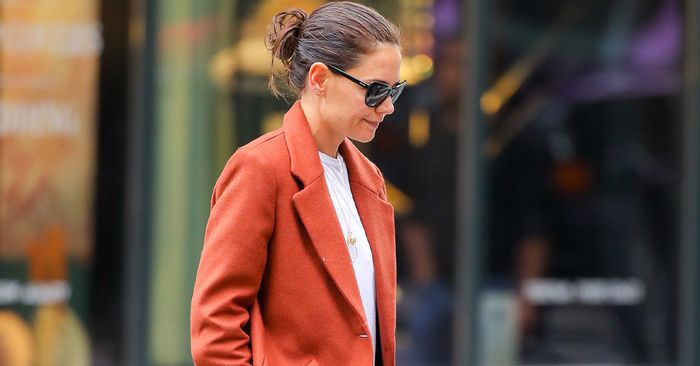 Katie Holmes' Mango Joggers Are The Perfect WFH Staple