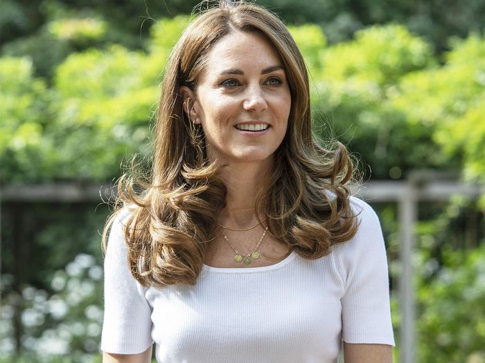 Kate Middleton Wore Her Favorite Sneakers With 2020's Prettiest T-Shirt Trend