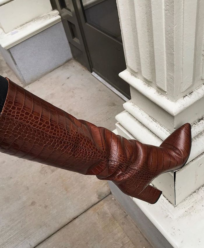 Best designer boots: Paris Texas knee high boots