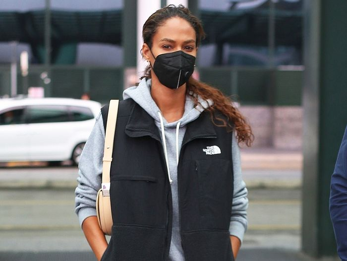 Joan Smalls Wore the Trendy Dad Brand You Should Buy Before It Sells Out