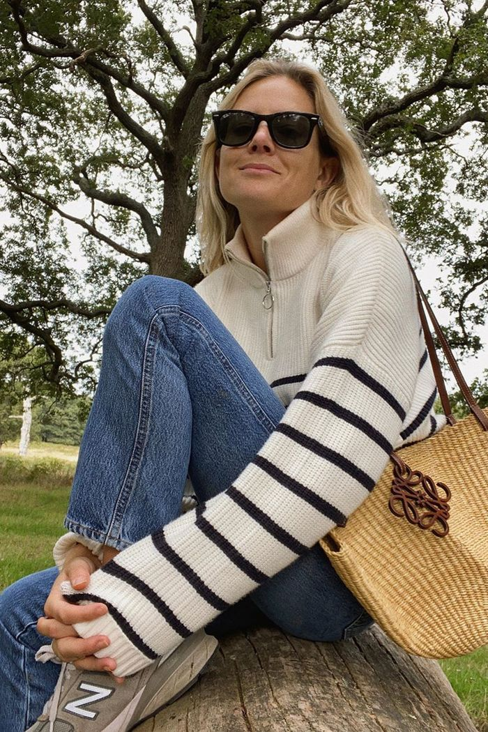 Breton top outfits