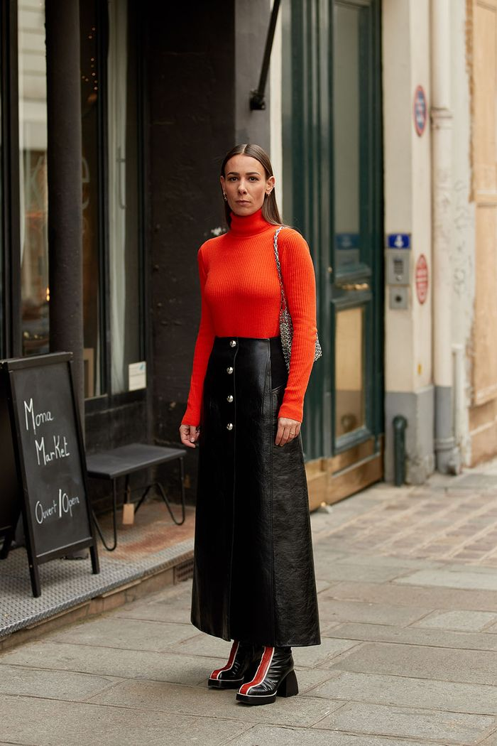 Paris fashion week street style looks
