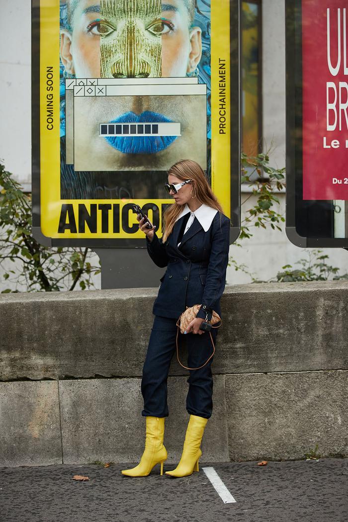 Paris fashion week street style trends
