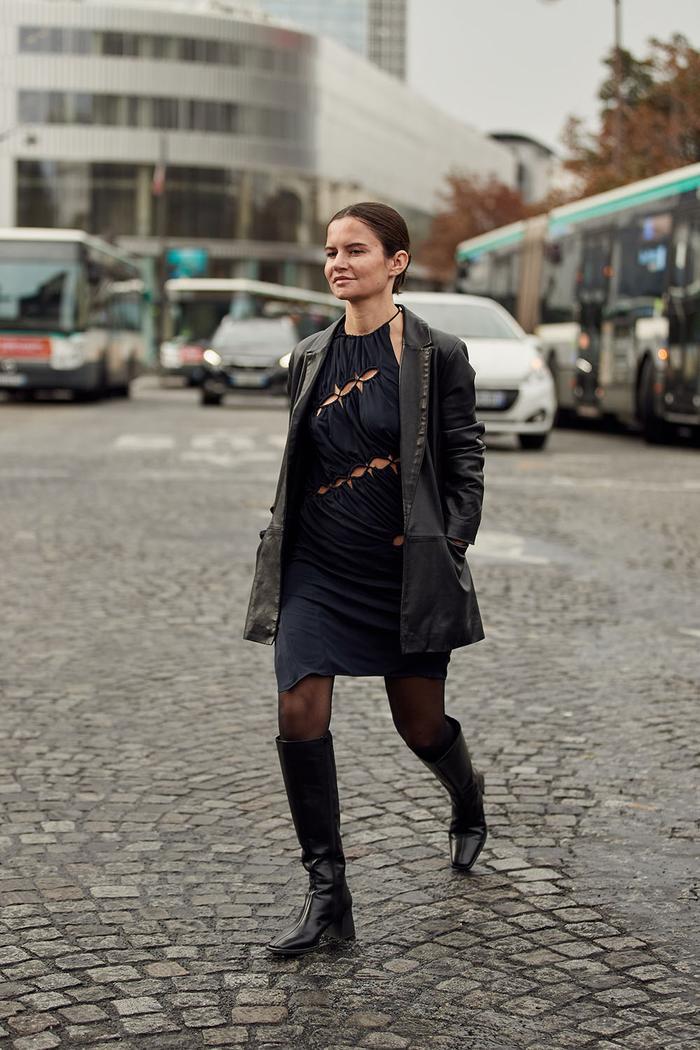 street style looks from Paris fashion week