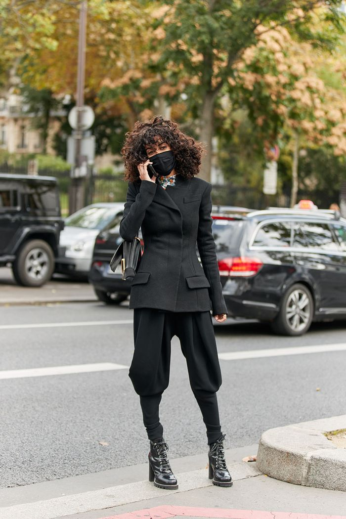 best boot outfits from PFW