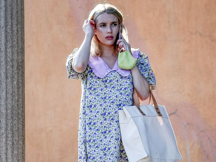 Emma Roberts Just Wore the Cutest Under-$100 Ballet Flats of 2020