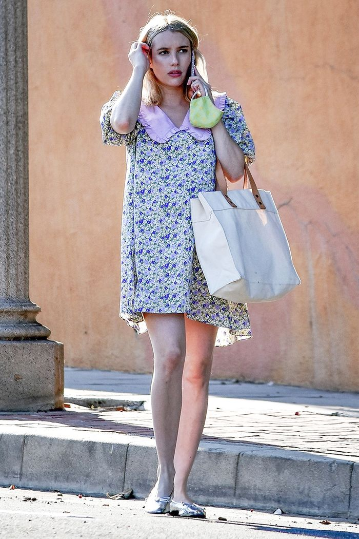 Emma Roberts cute outfit