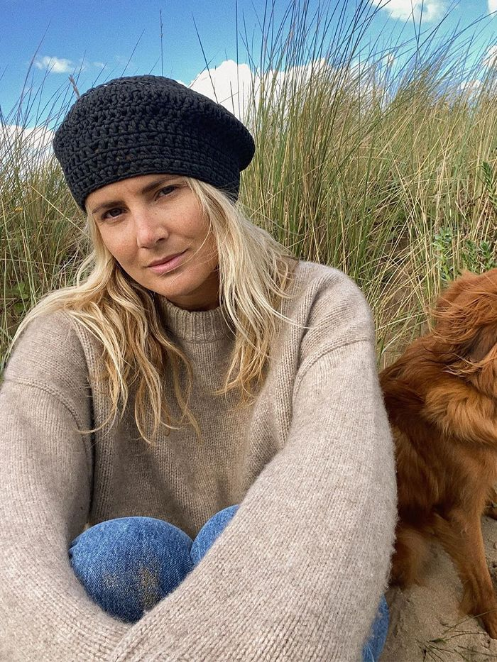 Ganni Knitted Beret: Lucy Williams