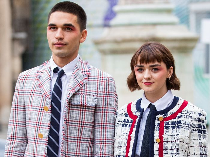 Maisie Williams and Reuben Selby Might Be the Most Stylish Couple in Britain