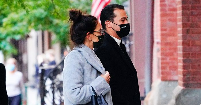 Katie Holmes Wore the New It Sneakers That Sold Out Immediately