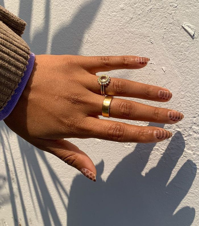 Brown Nail Colours: @evemeetswest