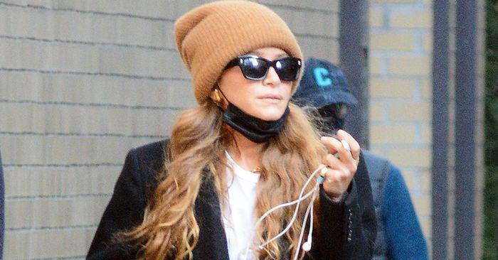 Mary-Kate Just Wore Skinny Jeans and Boots in the Most Olsen Way