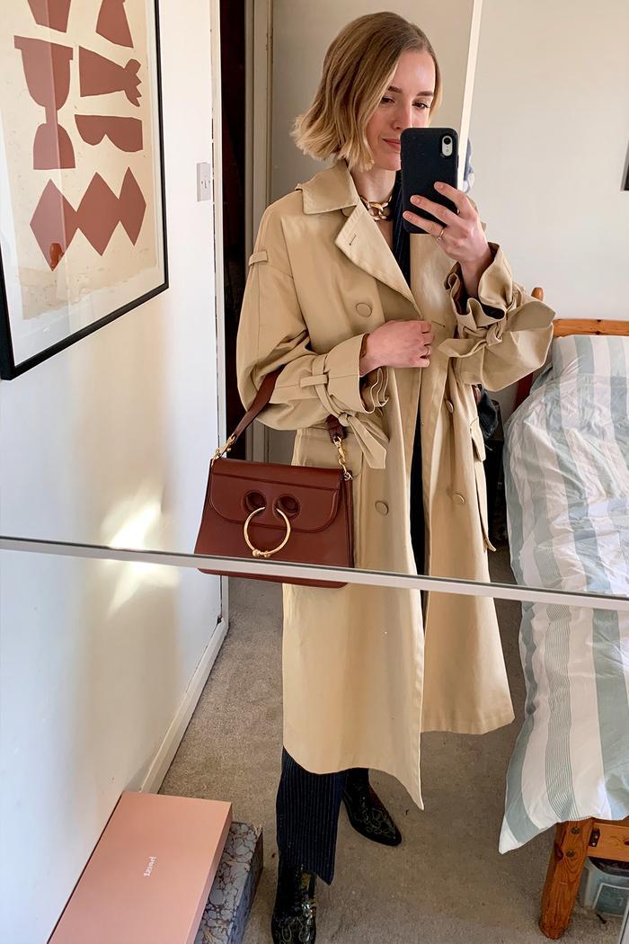 Joy Montgomery coat edit