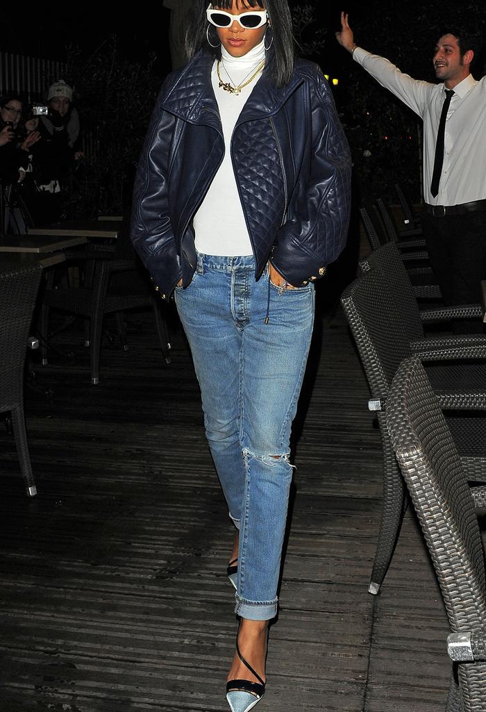 Rihanna, Wolford bodysuit