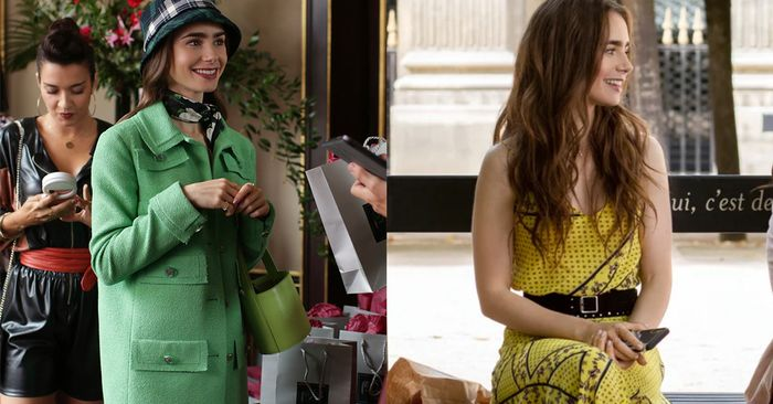 Love or Hate Her Style, Emily In Paris Knows How to Wear Statement Colour