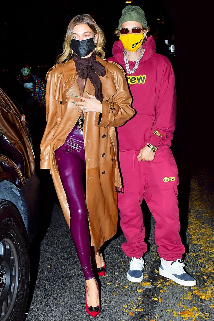 Hailey and Justin Bieber, NYC