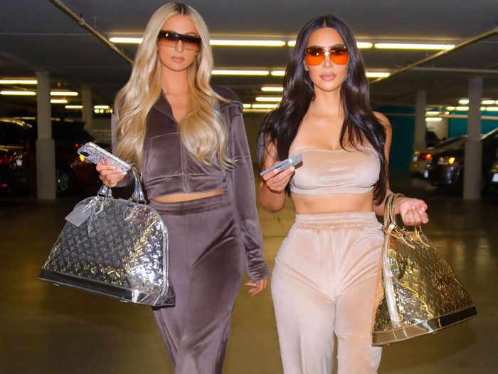 "Kim Kardashian and Paris Hilton Just Resurrected Their 2002 ""Uniform"""